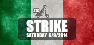 ATC Strike In Italy On Saturday