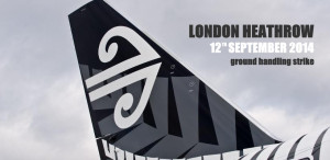 Delays Expected On Air New Zealand's Flights From London